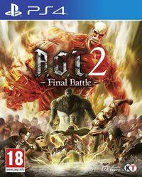 Portada oficial de Attack on Titan 2: Final Battle para PS4