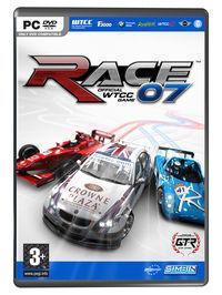 Portada oficial de RACE 07 - The official WTCC Game para PC