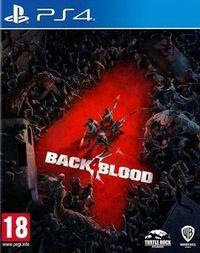 Portada oficial de Back 4 Blood para PS4