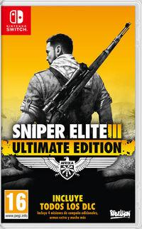 Portada oficial de Sniper Elite 3 Ultimate Edition para Switch