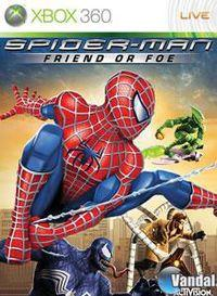 Portada oficial de Spiderman: Friend or Foe para Xbox 360