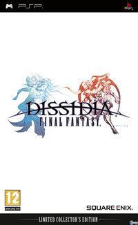 Portada oficial de Dissidia: Final Fantasy para PSP