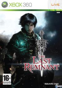 Portada oficial de The Last Remnant para Xbox 360
