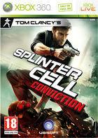 Portada oficial de de Splinter Cell: Conviction para Xbox 360