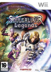 Portada oficial de Soul Calibur Legends para Wii