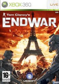 Portada oficial de Tom Clancy's EndWar para Xbox 360