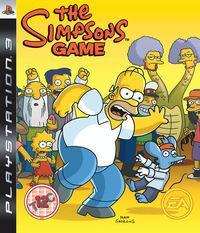 Portada oficial de Los Simpson: El Videojuego para PS3