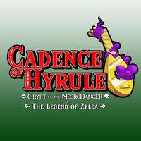 Portada oficial de Cadence of Hyrule - Crypt of the NecroDancer Featuring The Legend of Zelda para Switch