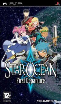 Portada oficial de Star Ocean: First Departure para PSP