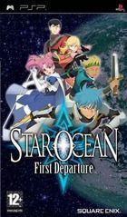 Portada oficial de de Star Ocean: First Departure para PSP