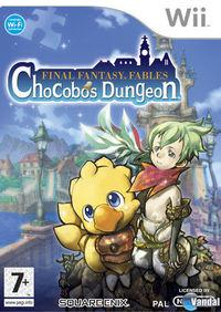 Portada oficial de Final Fantasy Fables: Chocobo's Dungeon para Wii