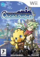 Portada oficial de de Final Fantasy Fables: Chocobo's Dungeon para Wii