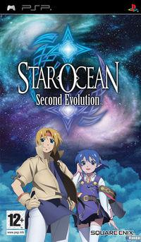 Portada oficial de Star Ocean: Second Evolution para PSP