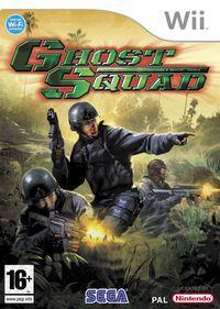 Portada oficial de Ghost Squad para Wii