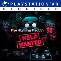Portada oficial de Five Nights At Freddy's VR: Help Wanted para PS4