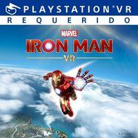 Portada oficial de Iron Man VR para PS4