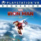 Portada oficial de de Iron Man VR para PS4