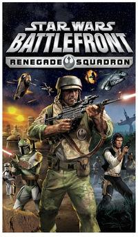 Portada oficial de Star Wars Battlefront: Renegade Squadron para PSP