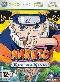 Portada oficial de Naruto: Rise of a Ninja para Xbox 360