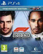 Portada oficial de de F1 2019 para PS4