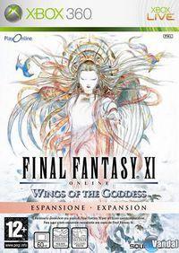 Portada oficial de Final Fantasy XI: Wings of the Goddess para Xbox 360