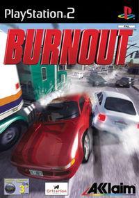 Portada oficial de BurnOut para PS2