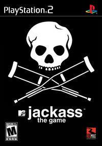 Portada oficial de Jackass para PS2