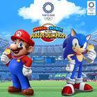Portada oficial de de Mario & Sonic at the Olympic Games Tokyo 2020 para Switch