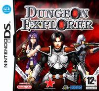 Portada oficial de Dungeon Explorer: Warriors of the Ancient Arts para NDS
