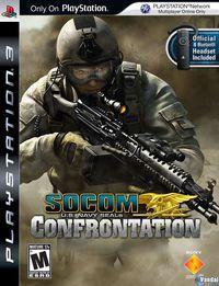 Portada oficial de SOCOM: Confrontation para PS3