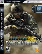 Portada oficial de de SOCOM: Confrontation para PS3