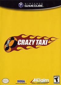 Portada oficial de Crazy Taxi para GameCube