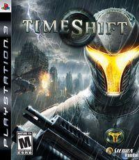 Portada oficial de Timeshift para PS3