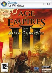 Portada oficial de Age of Empires 3: The Asian Dynasties para PC
