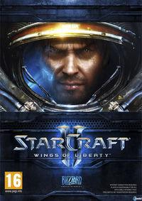Portada oficial de StarCraft II: Wings of Liberty para PC
