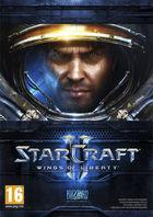 Portada oficial de de StarCraft II: Wings of Liberty para PC