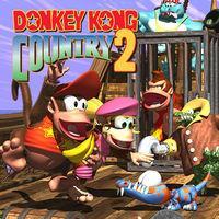 Portada oficial de Donkey Kong Country 2 CV  para Wii