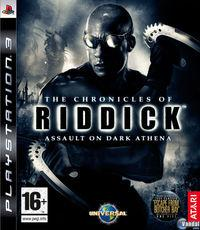 Portada oficial de The Chronicles of Riddick: Assault on Dark Athena para PS3