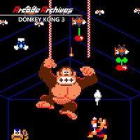 Portada oficial de Arcade Archives DONKEY KONG 3 para Switch