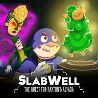 Portada oficial de SlabWell: The Quest For Kaktun's Alpaca para Switch