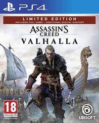 Portada oficial de Assassin's Creed Valhalla para PS4