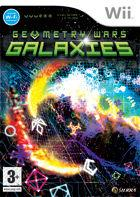 Portada oficial de de Geometry Wars: Galaxies para Wii