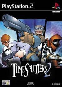Portada oficial de TimeSplitters 2 para PS2