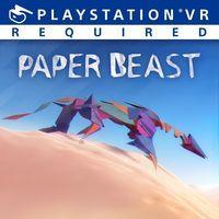 Portada oficial de Paper Beast para PS4
