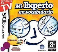 Portada oficial de Mi Experto en Vocabulario para NDS