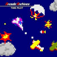 Portada oficial de Arcade Archives TIME PILOT para Switch