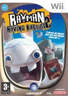Portada oficial de de Rayman Raving Rabbids 2 para Wii