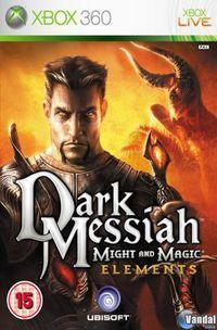 Portada oficial de Dark Messiah of Might And Magic Elements para Xbox 360