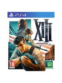 Portada oficial de XIII para PS4