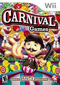 Portada oficial de Carnival Games para Wii